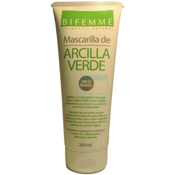 Bifemme Natural Green Clay Mask