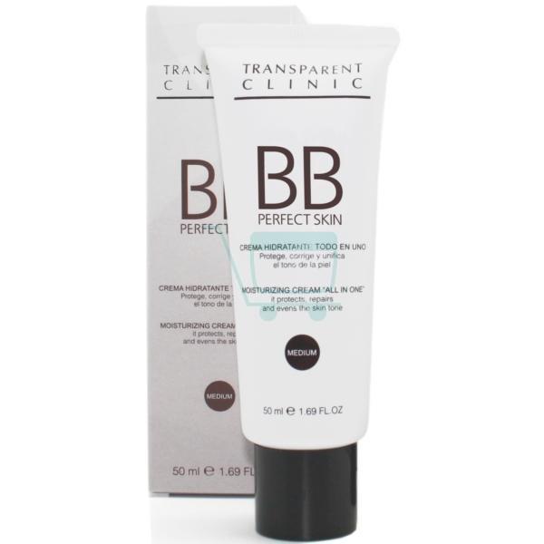 Transparent Clinic Perfect Skin BB Cream Medium Tone (Pale Skin)