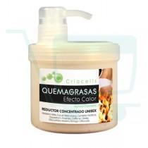 Criacells Heat Effect Fat Burner - Gel 500 ml / 16.90 fl oz