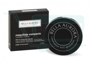 Bella Aurora Tan Compact Makeup SPF 50 (Medium-Dark Skin)