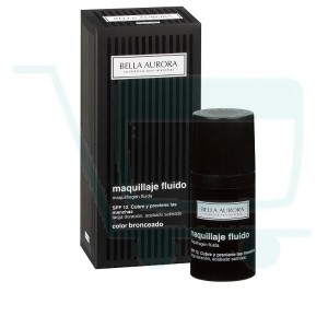 Bella Aurora Tan Fluid Makeup SPF 12 (Medium-Dark Skin)