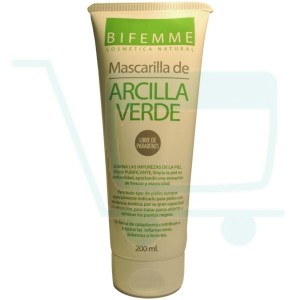 Bifemme Natural Green Clay Mask