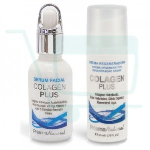 Collagen Plus Pack: Anti-Aging Cream + Regenerating Serum