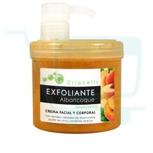 Criacells Apricot Face & Body Scrub 500 ML / 16.90 FL OZ